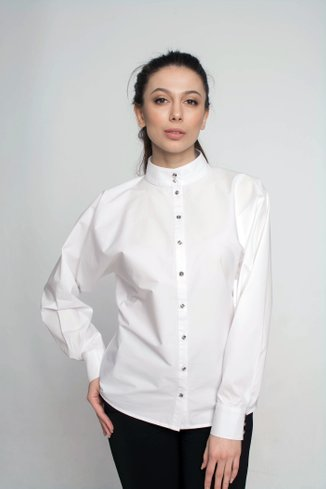 Shirt with sleeve bat Ganveri White