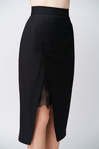Lace skirt Ganveri Black