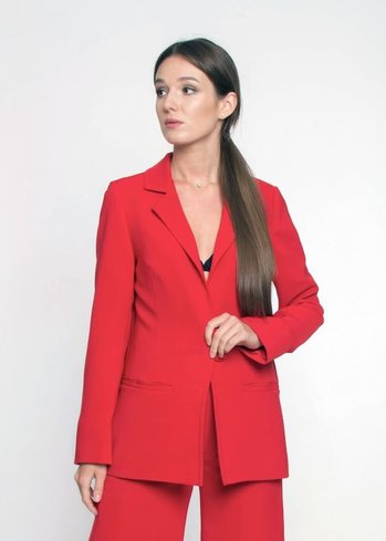 Classic Jacket Ganveri Red