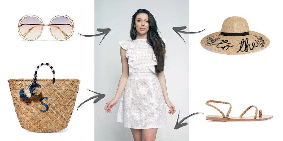 ПОРАДИ СТИЛІСТА  з чим носити білу сукню від GANVERI   5d54a249a8354