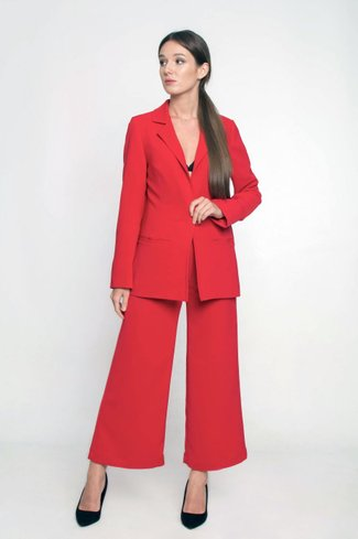 Red Suit Ganveri Red
